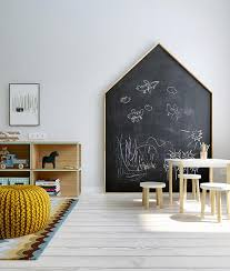 Fun Ways To Create A Chalkboard Wall In A Kids Room Petit Small
