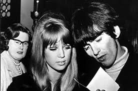 Amazon.com: George Harrison and Patti Hansen Photo Print (30 x 24 ...