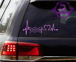 Car Decals Wiccan Pagan Style Etsy
