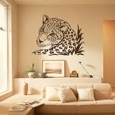 Wall Decal Leopard Tiger Wild Cat African Animals Safari Vinyl Sticker Home Decor Bedroom Living Murals Decoration Sticker W 54 Decorative Stickers Vinyl Stickerswall Decals Aliexpress