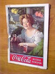 Antique 1909 August National Magazine Coca-Cola Hilda Clark Cover ...