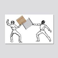 Fencing Wall Decals Cafepress