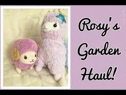 garden haul purple plushies galore