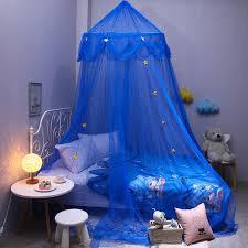 baby crib mosquito child blue star