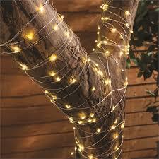 200 led solar copper wire string light