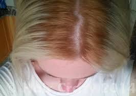 stylist turned my hair orange