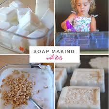 homemade soap with kids tinkerlab