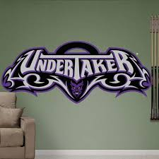 Wwe Undertaker Logo Service Real Big Fathead