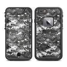Lifeproof Iphone 6 Plus Fre Case Skin Digital Urban Camo By Camo Decalgirl