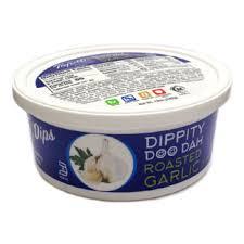 dippity doo dah roasted garlic dip by
