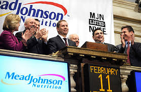 mead johnson nutrition the top 10