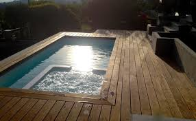 north vancouver fibreglass plunge pool