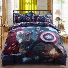 marvel super heroes bedding set twin