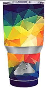 Amazon Com Skin Decal Vinyl Wrap For Ozark Trail 30 Oz Tumbler Cup 6 Piece Kit Prism 2 Kitchen Dining