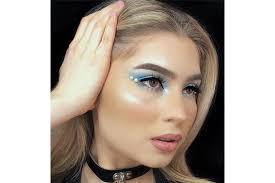 ways to add pearls to your eye makeup looks