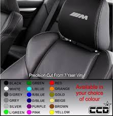 Bmw M Class Logo Car Seat Decals