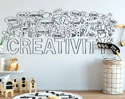 Creativity Decal Etsy