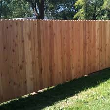 Fence City 72 Dog Eared Solid Board Red Cedar