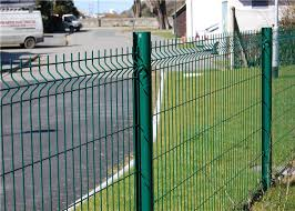 Custom Pvc Welded Wire Mesh Fencing 200mm X 50mm For Road Airport