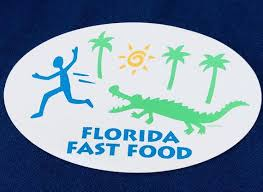 Florida Fast Food Sticker Decal Laptop Decal Bumper Etsy