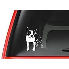 Amazon Com Boston Terrier Af6 Vinyl Decal Sticker Car Truck Laptop Netbook Window Automotive