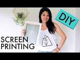 screen printing on a budget diy