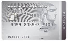 amex platinum reserve card moneyline