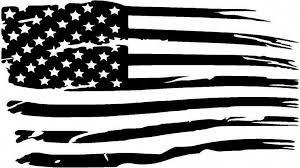 Distressed American Flag Premium Vinyl Decal Oracal651 American Flag Decal American Flag Tattoo Flag Decal