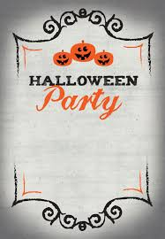 Halloween Party Halloween Party Invitation Template Free