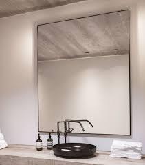 docklands rectangular black bathroom