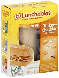 turkey cheddar lunch binations