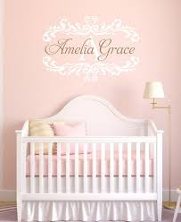For Above Her Crib Personalized Baby Nursery Name Vinyl Wall Kids At Repinned Net