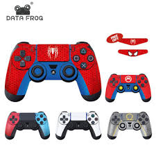 Hot Discount B0ad Data Frog Full Cover Skin Stickers For Ps4 Controller Vinyl Decal Protector Skin For Ps5 Design For Ps4 Slim Pro Accessories Cicig Co
