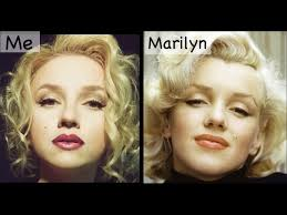 marilyn monroe makeup transformation
