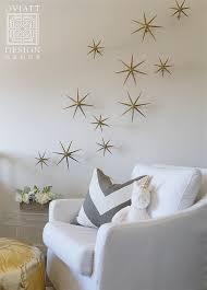 Gold Stars Wall Decals Design Ideas