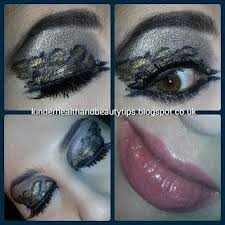 leopard print eye makeup eyeshadow