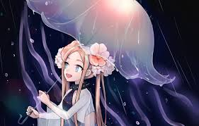 Wallpaper Jellyfish, Fanart, Fate/Grand Order, Pixiv, Fanart From ...
