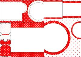 Lunares Rojos Y Blancos Invitaciones Para Imprimir Gratis Oh