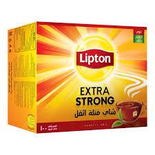 lipton extra strong teabags