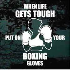 Boxing Car Decals Stickers Decal Junky