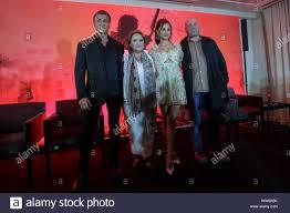 L-R) Sylvester Stallone, Alejandra Barraza, Yvette Monreal and ...