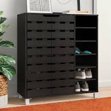 Kids Shoe Rack For Closets Children Room 36 Pair Storage Cabinet Entryway Grey For Sale Online Ebay