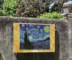 paintings come alive in provence