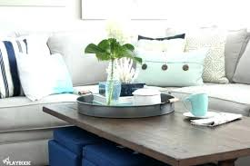 coffee table with tray awesome round