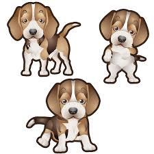 Beagle Dog Set Of 3 Decals Animals Decalvenue Com Decal Venue