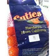 cuties mandarins from california