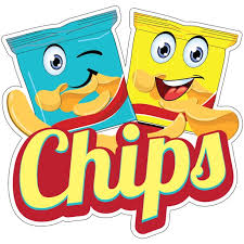 Chips Decal Concession Stand Food Truck Sticker Walmart Com Walmart Com