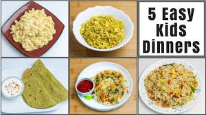 5 dinner recipes for 2 kids toddlers