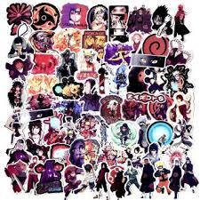 70pcs Lot Japan Anime Naruto Sasuke Cartoon For Snowboard Laptop Luggage Fridge Car Styling Vinyl Decal Home Decor Shopee Malaysia