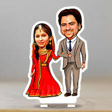 personalised caricature gift